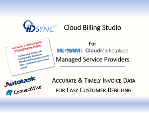 Accurate & Timely Invoice Data For Easy Customer Rebilling